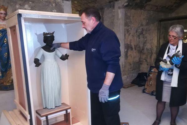 La Vierge Noire prêtée au Louvre-Lens