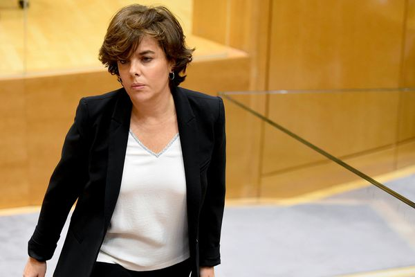 Soraya Saenz de Santamaria, remplace Carles Puigdemont à la tête de la Catalogne - 31 octobre 2017