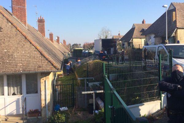 Le squat avait été ouvert il y a plus de deux ans dans une maison appartenant à Calvados Habitat