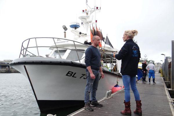 Le filet sera utilisé par les fileyeurs, ces pêcheurs qui pratiquent la petite pêche côtière