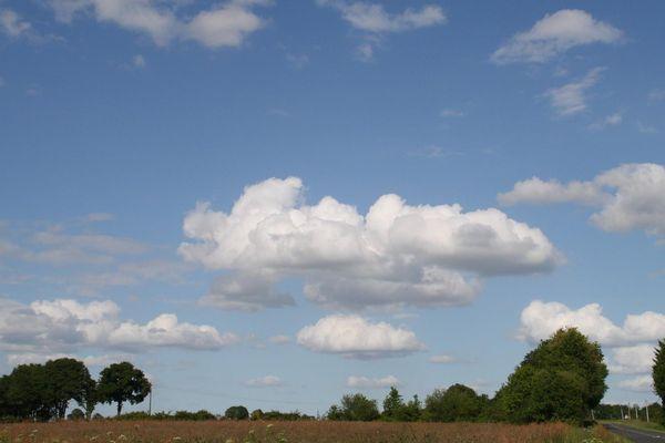 Le ciel ligérien ces derniers jours.