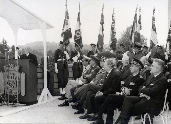 Discours de Maurice Genevoix à Verdun en 1967.