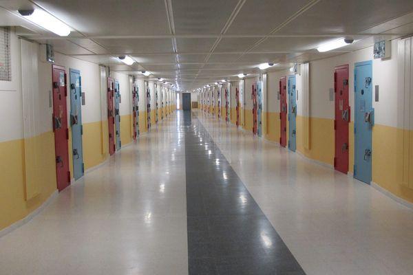 Prison de Fleury-Mérogis, bâtiment D5, le 31 octobre 2013.