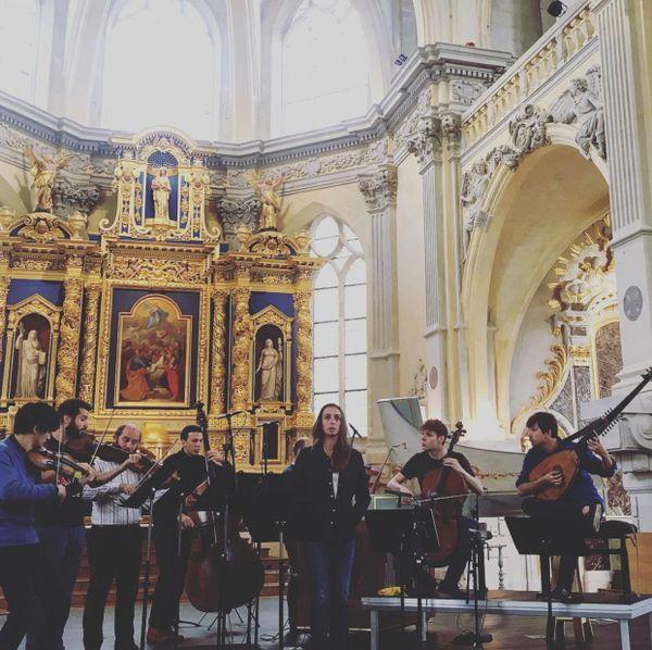 L'Ensemble Jupiter à La Chapelle Corneille de Rouen.