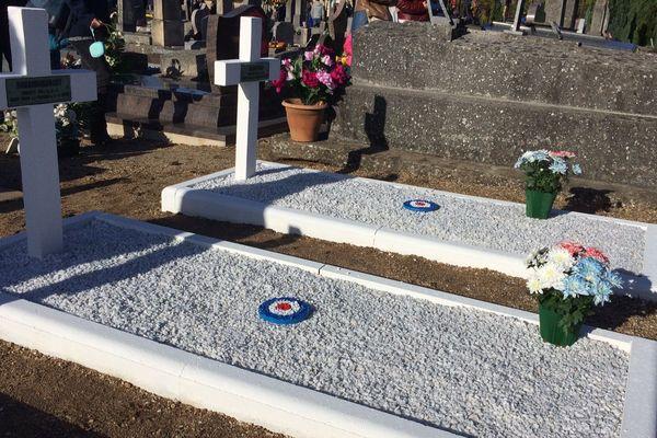 Tombes de soldats morts durant la guerre 14/18