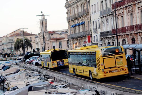 Les conducteurs de bus de Sète se disent prêts à reprendre le travail dès que le barrage sera levé - 10 janvier 2020