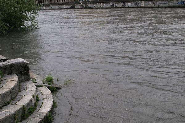 Les rives de l'Isère.