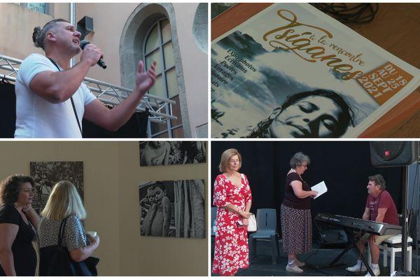 """Lectures, musique, exposition photo sont au programme du festival """"A la rencontre - Tsiganes""""."""