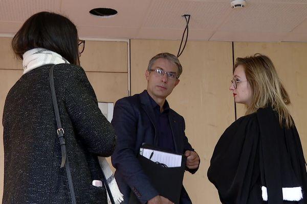Le directeur d'Alpine Aluminium, Grégoire Hamel, au tribunal de commerce d'Annecy