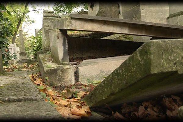 Le cimetière du Père-Lachaise, à Paris.