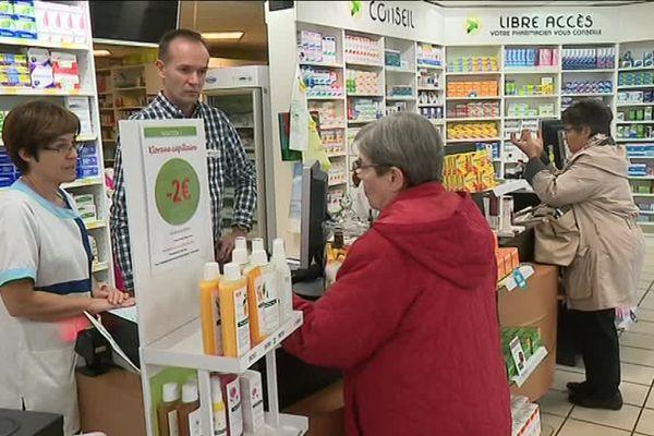 La pharmacie de la Benauge à Bordeaux participe à l'expérimentation pendant trois ans.