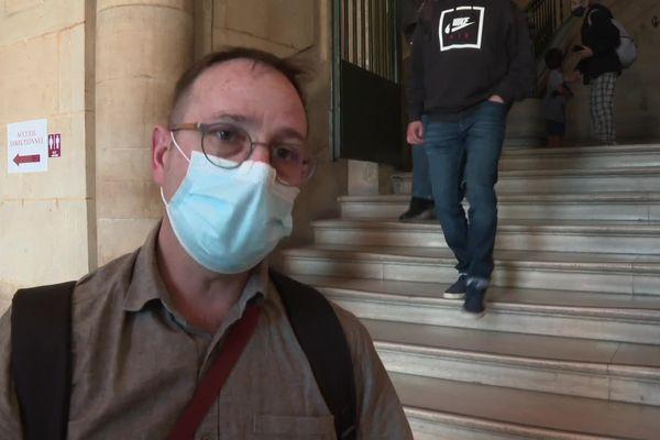 Patrick Chevalier, victime du bombardement