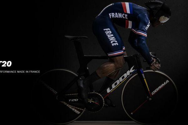 Le T20, conçu et produit par Look Cycle à Nevers, accompagnera l'équipe de France de cyclisme sur piste aux Jeux Olympiques de Tokyo, qui auront lieu du 24 juillet au 9 août 2020 au Japon.