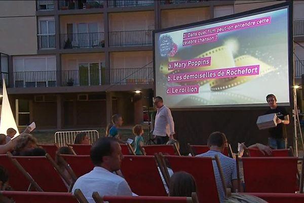 Mercredi, c'était au tour de Saint-Rémi de profiter d'une projection
