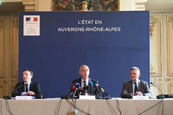 Finale de l'Europa League à Lyon : le dispositif de sécurité dévoilé lors d'une conférence de presse ce matin - 14/5/18