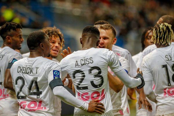 Première victoire à l'extérieur pour l'Amiens SC face à Sochaux lundi 26 octobre 2020