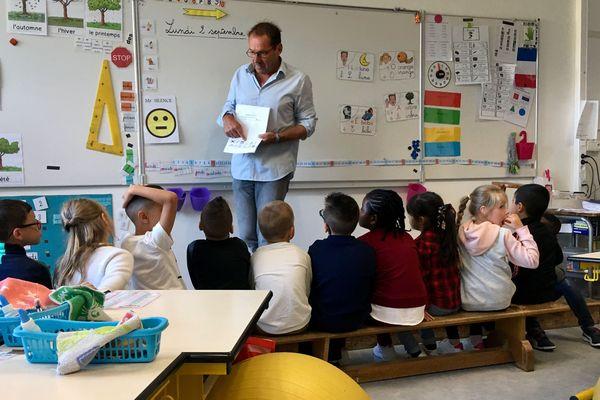Classe de CE1, école de la Brèche aux Cornes à Saint-Brieuc