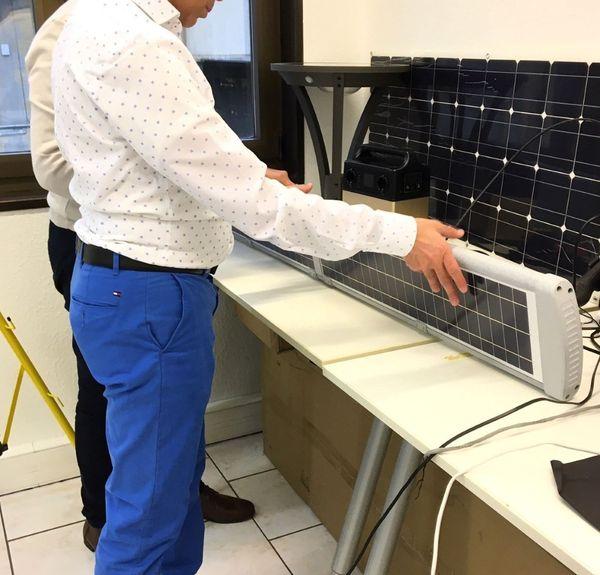 Des panneaux solaires innovants permettent de stimuler deux fois plus de cellules
