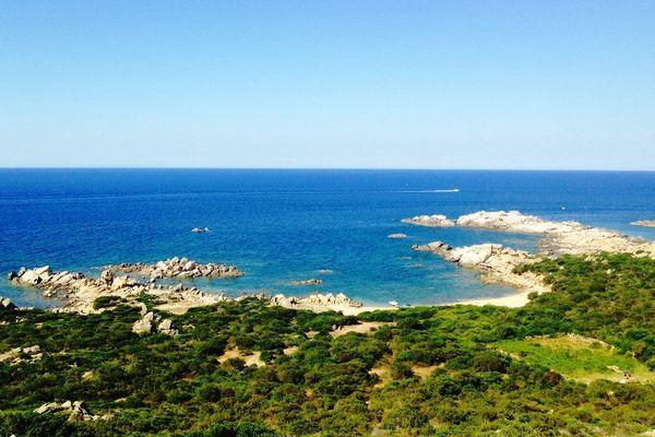 ILLUSTRATION - Le littoral de Senetosa, sur la commune de Sartène en Corse du Sud
