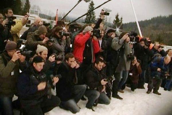 Qui les photographes mitrailleront-ils au pied des pistes de la Mauselaine à Gérardmer (Vosges) en 2013 ?