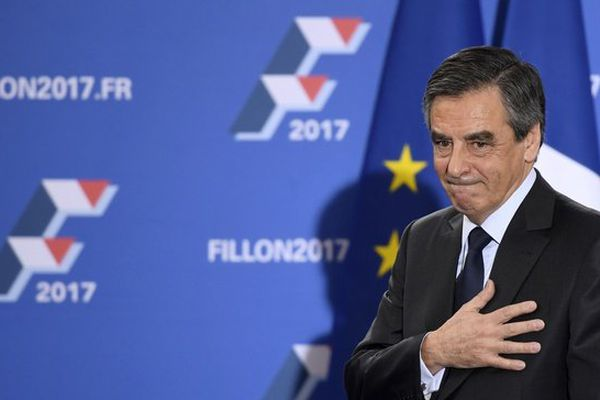 François Fillon, vainqueur de la primaire de la droite et du centre, le 27 novembre 2016.