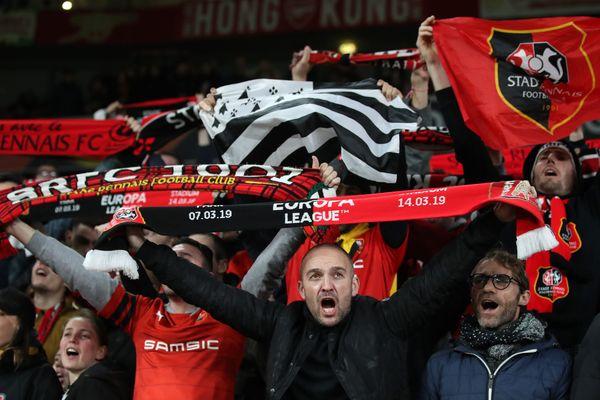 Plus de 6000 supporters rennais ont encouragé du début à la fin le Stade rennais contre Arsenal jeudi soir à l'Emirates Stadium.