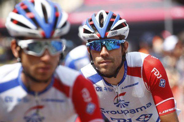 Thibaut Pinot lors du Giro 2018