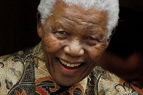 Nelson Mandela en août 2007.