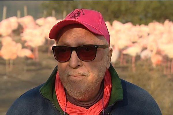 Jean-Jacques Boisard, figure emblématique de la réserve africaine de Sigean dans l'Aude, interviewé par l'une de nos équipes en décembre 2013.