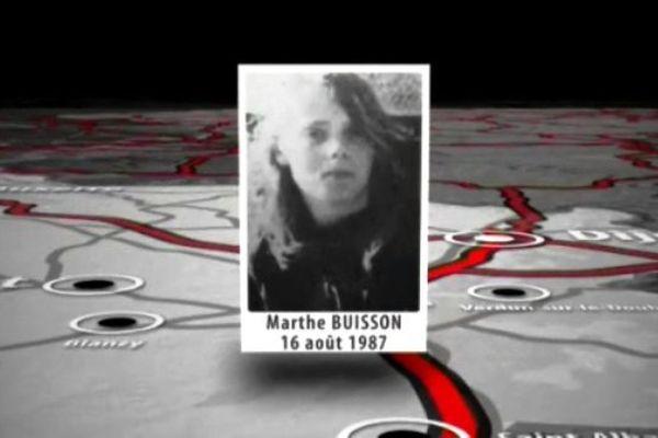 Le 16 Août 1987, Marthe Buisson, une adolescente de 16 ans, avait fugué du foyer où elle était hébergée pour partir en auto-stop. Elle a été vue à quelques centaines de mètres du péage de Mâcon de Nord. Son corps a été retrouvé le long de la Bande d'Arrêt d'Urgence de l'A6, le crâne fracassé, comme si elle avait été éjectée d'un véhicule. Cette affaire reste non élucidée.
