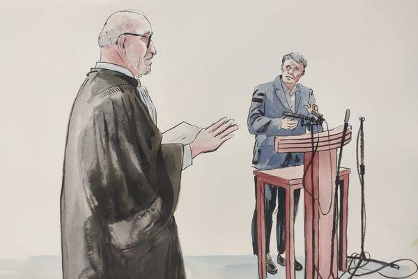 Patrick Blachère, expert psychiatre, interrogé par Maître Jakubowicz, l'avocat de Nordahl Lelandais