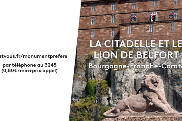 Belfort, son Lion et sa Citadelle seront-ils élus monument préféré 2020 des Français dans l'émission de Stéphane Bern ?