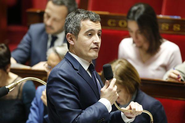 Gérald Darmanin à l'Assemblée nationale, le 30 janvier 2019.