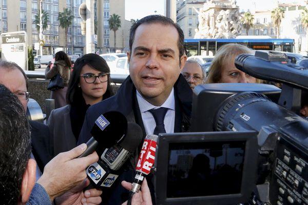 Yves Moraine, élu LR à Marseille.