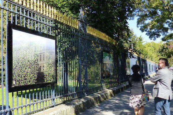 L'exposition Cap Sud Ouest se tiendra jusqu'au 18 octobre sur les grilles du Jardin Public de Bordeaux