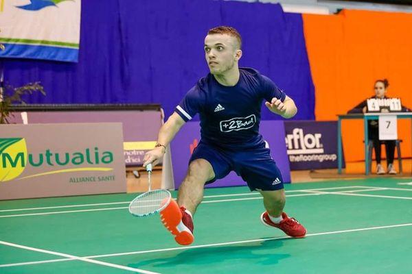 Charles Noakes, joueur para-badminton de Saint-Herblain sera présent lors de ces championnats de France.