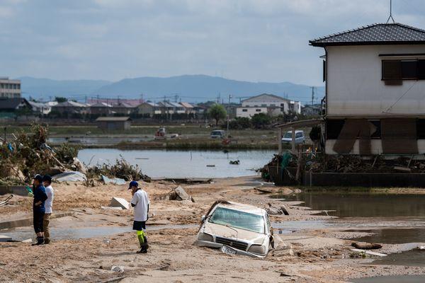 Les dégâts sont considérables après les fortes pluies.