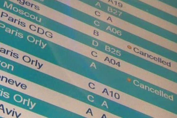 Une dizaine de vols ont été annulés à Nice