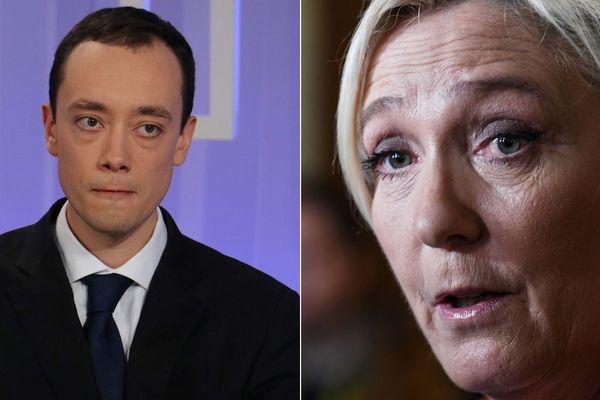 """LA présidente du Front National demande """"des explications"""" à Rémi Meurin, candidat tête de liste RN à l'élection municipale de Tourcoing."""