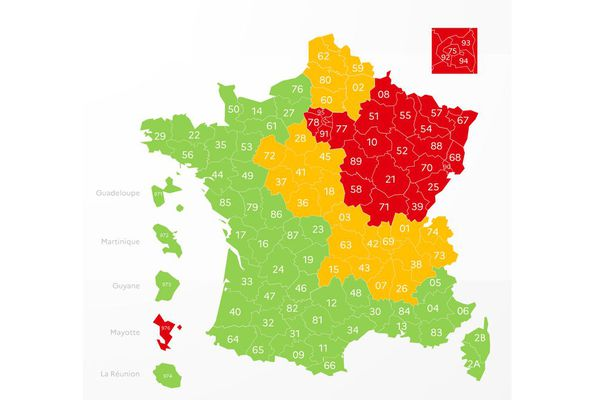 Depuis le jeudi 30 avril, sur la carte du déconfinement, l'Auvergne est désespérement orange, au grand dam de certains élus.