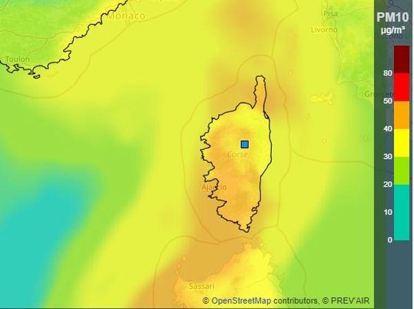 La qualité de l'air sera surveillée attentivement ce lundi