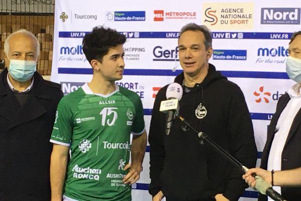 Le passeur argentin Matias Sanchez a été désigné meilleur joueur du match.
