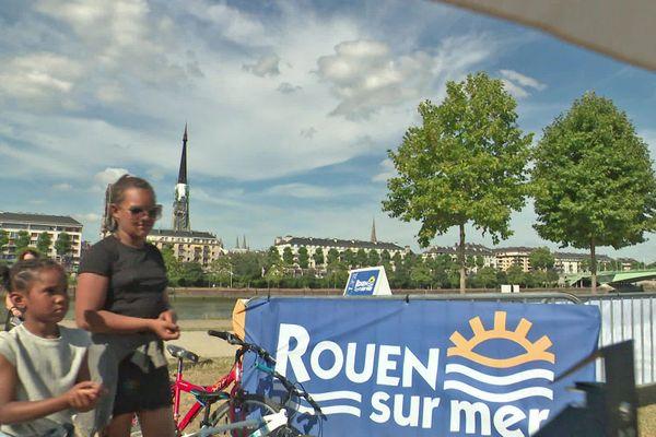 La plage de Rouen sur mer 2020