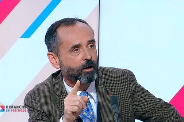 Robert Ménard maire de Béziers invité de Dimanche en politique le 24 mars 2019.