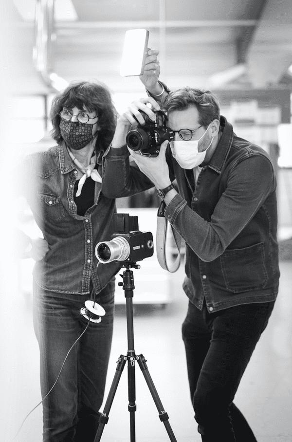Argentique noir et blanc pour marquer le temps / © Nora Khalloul