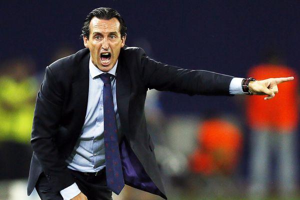 Le nouvel entraîneur du PSG Unai Emery.