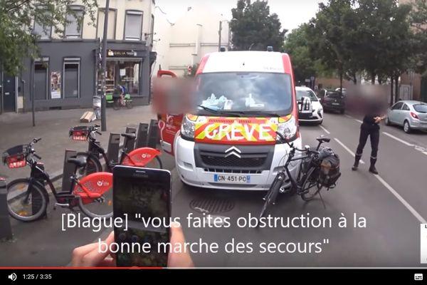 """Avec humour, la vidéo est intitulée """"Urgence boulangerie : pas de pitié pour les croissants !"""""""
