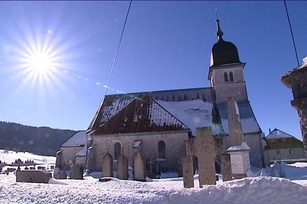 Chapelle des Bois (Doubs), 280 habitants.
