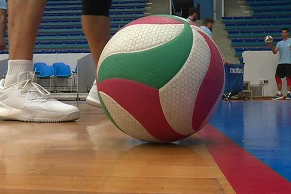 Session d'entraînement au club de volley de Saint-Quentin - Octobre 2018