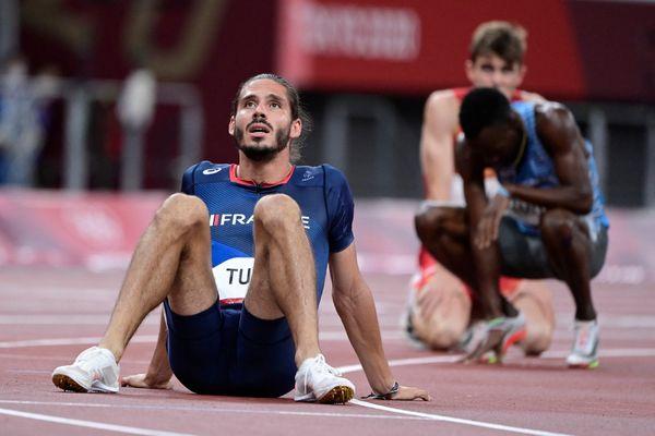 Gabriel Tual, 7e lors de sa première finale olympique du 800 m à Tokyo le 04/08/21